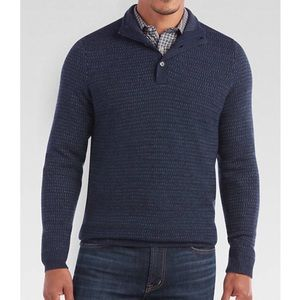 Joseph Abboud Mock Neck Sweater